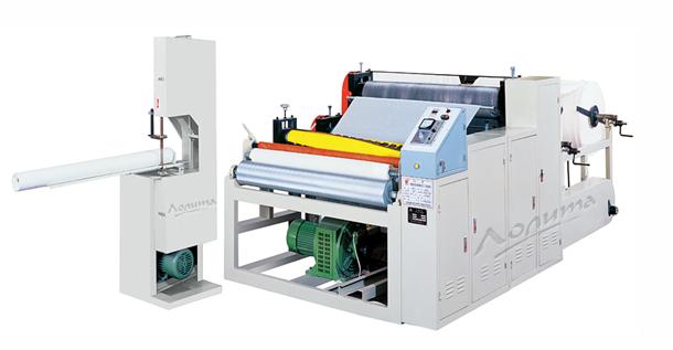 Оборудование для производства туалетной бумаги и кухонных ID110